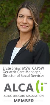 Elyse Shaw, MSW, CAPSW Geriatric Care Manager